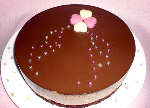 【バレンタイン ホワイトデー】ドリームショコラ5号【誕生日 バースデー ケーキ ガトーショコラ】の画像1枚目