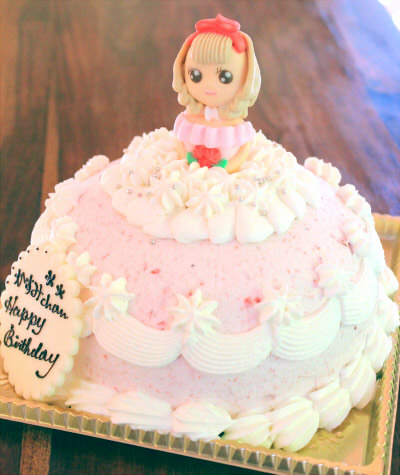 【2016年2月末までの限定販売】ストロベリー・プリンセス  5号【バースデー 誕生日 ケーキ スイーツ お取り寄せ】