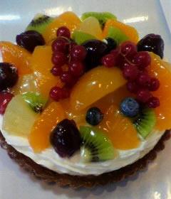 フルーツタルト5号【誕生日 デコ ケーキ バースデー】の画像1枚目