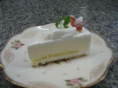 レアチーズケーキ6号(18cm)【バースデーケーキ 誕生日ケーキ デコ バースデー】の画像2枚目