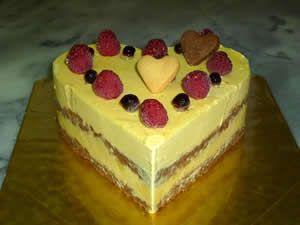 【送料無料】ハートのアイスデコレーション5号(15cm)【誕生日 ケーキ デコ バースデー】【smtb-T】