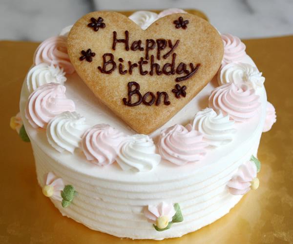 フルール4号【バースデーケーキ 誕生日 ケーキ ペット用 犬用】の画像1枚目