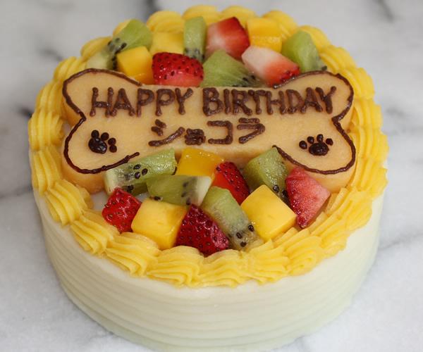 レギューム4号【バースデーケーキ 誕生日 ケーキ ペット用 犬用】の画像1枚目
