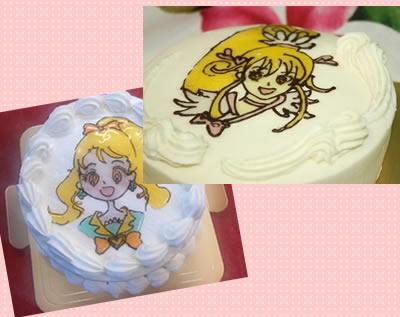 イラストケーキ5号