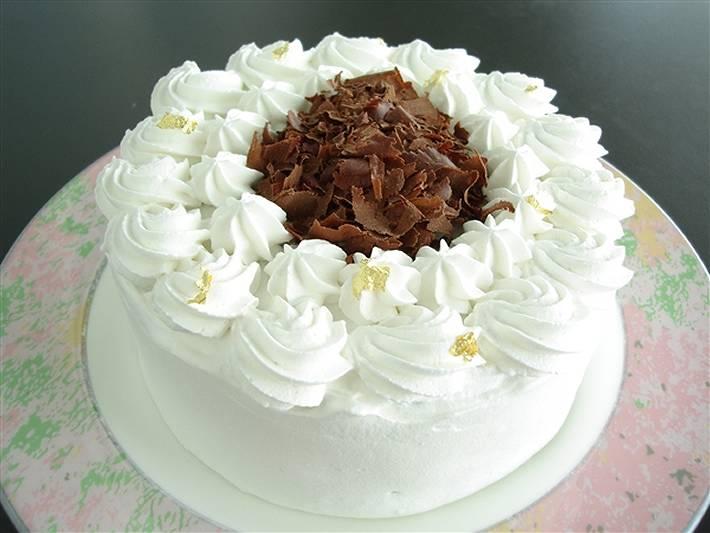 シェ・ワタナベ特製 卵・乳製品・小麦粉除去 ノンアレルギーケーキ ガトーショコラ 直径約17cm