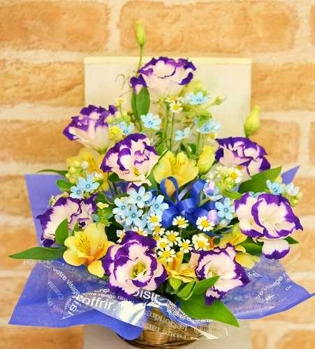 【送料無料】お供えアレンジ(生花アレンジメント)【花 フラワーギフト アレンジメント フラワー 誕生日】