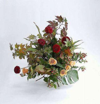 花束003【お花 贈答 フラワーギフト 敬老の日】の画像1枚目