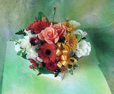 アレンジメント012【お花 贈答 フラワーギフト 敬老の日】の画像1枚目
