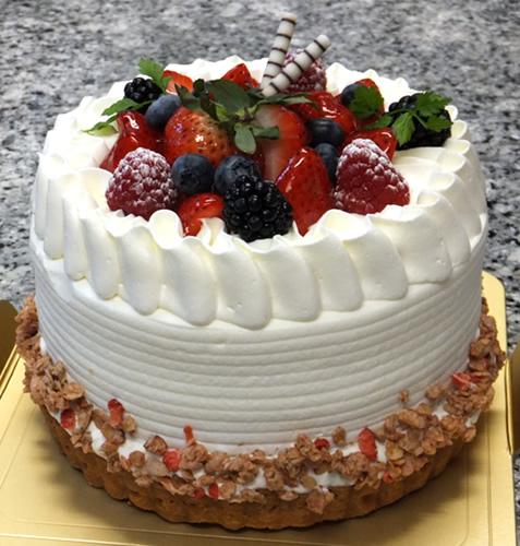 デコレーション オンザ タルト5号(直径15cm)【誕生日 デコ バースデー ケーキ バースデーケーキ】の画像1枚目