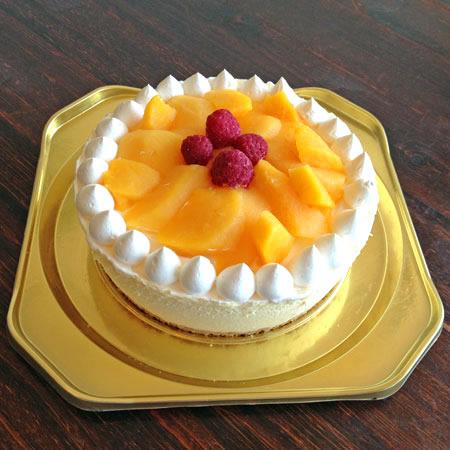 たっぷりマンゴーのアイスケーキ(5号・直径15cmホール)の画像1枚目