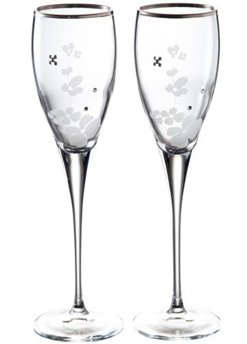 グラスワークス プチエキュラシャンパングラス ペア 名入れ【お誕生日祝い 結婚祝い 内祝い ギフト】