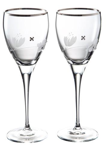 グラスワークス プチエキュラワイングラス ペア 名入れ【お誕生日祝い 結婚祝い 内祝い ギフト】の画像1枚目