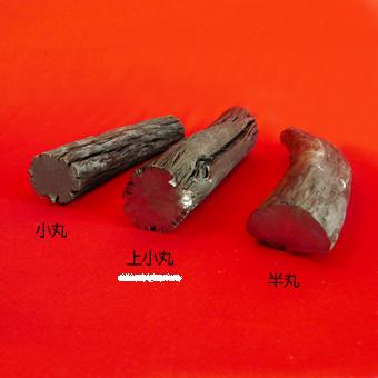 紀州備長炭(上小丸)馬目樫の高級木炭上小丸 《1.5kg》の画像1枚目