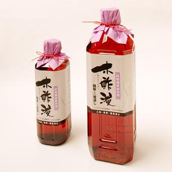 【木酢液】紀州備長炭の精製木酢液(もくさくえき)《500ml》の画像1枚目