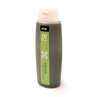 【炭シャンプー】炭・木酢液と檜・オリーブ油配合のシャンプー《260ml》の画像1枚目