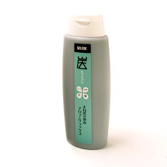 【炭トリートメント】炭・木酢液と檜・オリーブ油配合のトリートメント《260ml》の画像1枚目