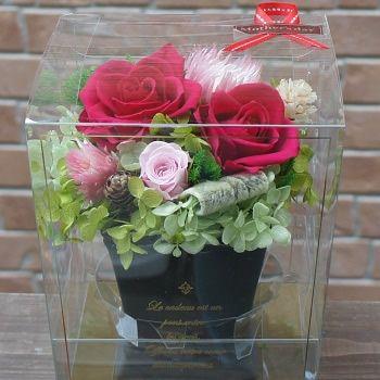 【ポイント10倍】プリザーブドフラワー『クラシカル』 贈り物 母の日に【花 フラワーギフト プリザーブド フラワー 誕生日】の画像2枚目