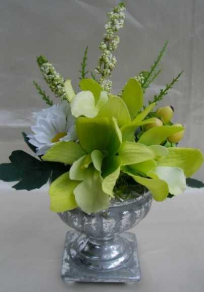小さな仏花花器付 祈り アーティフィシャル【ギフト】