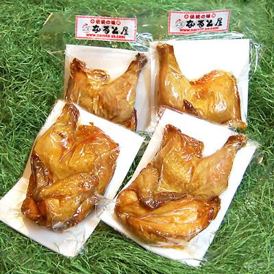 小樽なると屋 若鶏の半身揚げ(4パック)※冷蔵、冷凍品