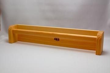 タオルハンガーワイド(ヒノキ)【誕生日 贈り物 プレゼント 木製 木工品 ハンドメイド 手作り】の画像1枚目