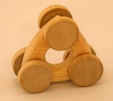 おにぎりくるま【誕生日 贈り物 プレゼント 木製 木工品 ハンドメイド 手作り】
