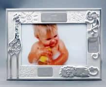 アニマルデータフレーム【名入れ 誕生日 贈り物 プレゼント お祝い 出産祝い 記念】の画像1枚目