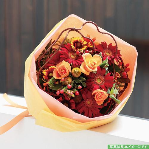 秋色のブーケ【誕生日 記念日 バースデー プレゼント 贈答 お祝い 花束 ブーケ】の画像1枚目