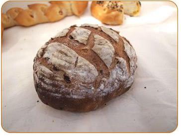 フルールカンパーニュ【無添加 本格釜焼き パン 贈り物 贈答 プレゼント】の画像1枚目