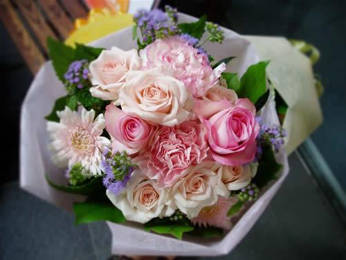 【ポイント10倍】花束 キュート【花 フラワーギフト プレゼント 花束 フラワー】