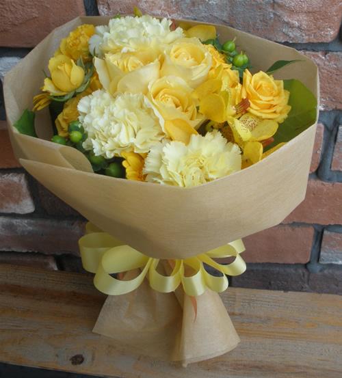【ポイント10倍】花束 フレッシュ【花 フラワーギフト プレゼント 花束 フラワー】の画像1枚目