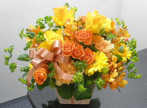 【ポイント10倍】アレンジ フレッシュフレッシュ【花 フラワーギフト プレゼント アレンジメント フラワー】