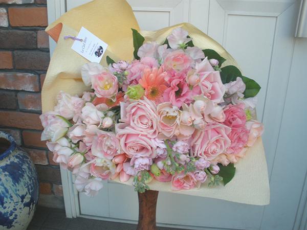 【ポイント10倍】花束 ラグジュアリーピンク【花 フラワーギフト プレゼント 花束 フラワー】