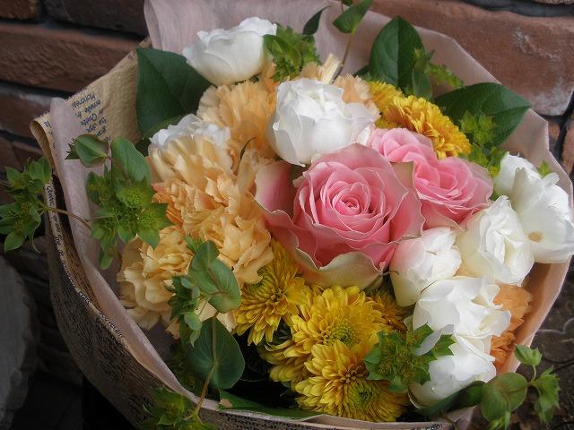 【ポイント10倍】花束 MIXキュート【花 フラワーギフト プレゼント 花束】