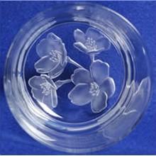 【ポイント10倍】名入れオールドグラスフラワーガーデン/サクラ【誕生日 贈り物 プレゼント ガラス グラス】の画像1枚目