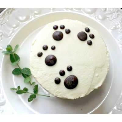 ビーガン対応 アレルギー対応うちの子ケーキ 豆腐クリーム丸型10cm