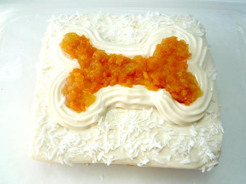 アレルギー対応 うちの子ケーキ ベジタブルボーン 12×10cmの画像2枚目