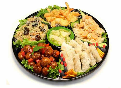 【ポイント10倍】中華風オードブルA【手作り オードブル 惣菜 高級食材使用】の画像1枚目