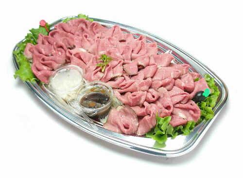 【ポイント10倍】ローストビーフ【手作り オードブル 惣菜 高級食材使用】の画像1枚目