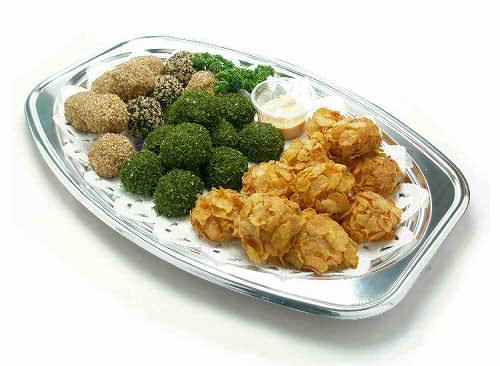 【ポイント10倍】三色ミートボール【手作り オードブル 惣菜 高級食材使用】の画像1枚目