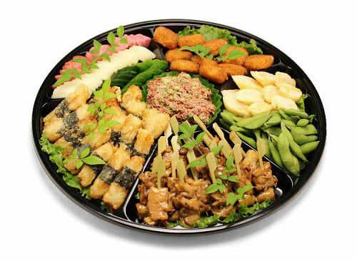 【ポイント10倍】和風オードブルB【手作り オードブル 惣菜 高級食材使用】の画像1枚目