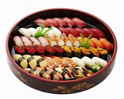 【ポイント10倍】特上にぎり寿司【手作り オードブル 惣菜 高級食材使用】