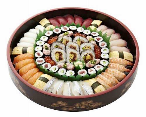 【ポイント10倍】末広にぎり寿司【手作り オードブル 惣菜 高級食材使用】