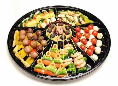 【ポイント10倍】ピンチョスB【手作り オードブル 惣菜 高級食材使用】の画像1枚目