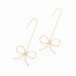 Line Ribon Earringの画像1枚目
