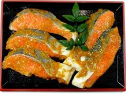 サーモン味噌漬け5切れセット【魚 魚介類 食材 セット 贈答 贈り物】