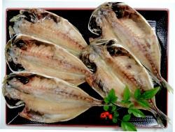 山口県萩産瀬つきあじ(中型)5枚セット【魚 魚介類 食材 贈答 贈り物】
