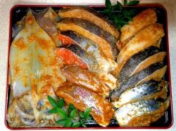 豪華特選味噌漬け7品14切れセツト【魚 魚介類 食材 セット 贈答 贈り物】