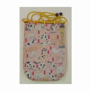 浮世絵巾着袋 国芳 猫飼好五十三疋【プレゼント 贈り物 誕生日 記念日】