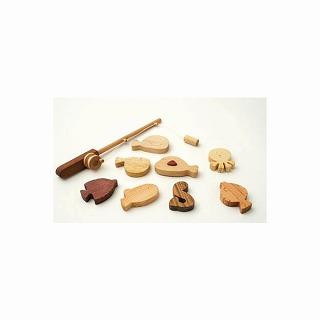 木のおもちゃ 森のささやきシリーズ プレイフィッシング【プレゼント 贈り物 誕生日 記念日】