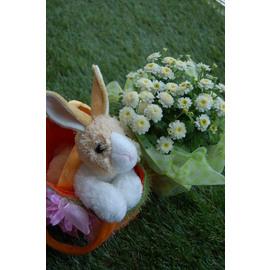かわいいウサギの置物 Rabbitガーデン